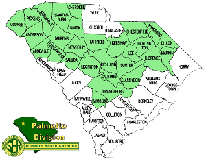 Palmetto Division County Map
